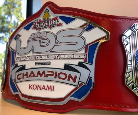 Yu-Gi-Oh! TRADING CARD GAME (TCG): the Ultimate Duelist Championship Belt for 2019 +