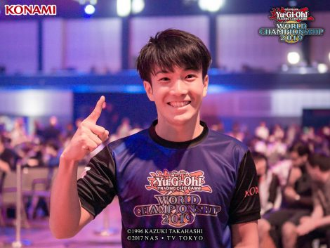 Shuhei Kobayashi, the winner of the Main Duel Links Event and World Champion