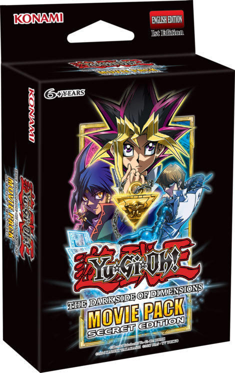 Yu-Gi-Oh! TRADING CARD GAME - Movie Pack Secret Edition