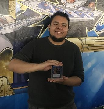 Alejandro Sebastian Zacarias Dzul from Mexico