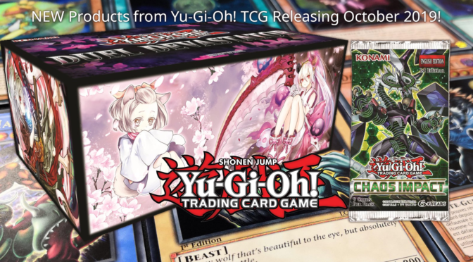 NEW Products from Yu-Gi-Oh! TCG Releasing October 2019!