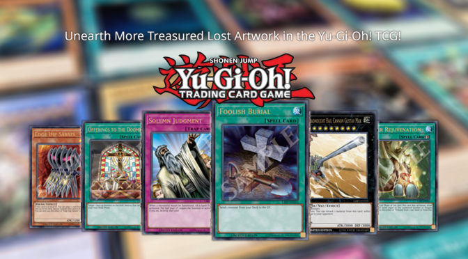 Unearth More Treasured Lost Artwork in the Yu-Gi-Oh! TCG Lost Art Promotion!