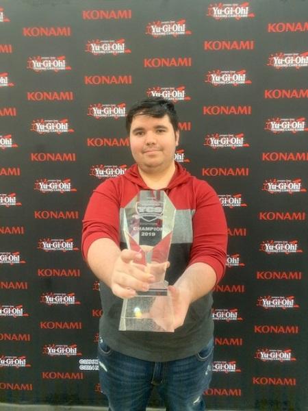 Kobe Short is the champion of YCS Pasadena!