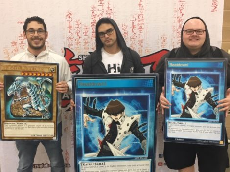 YCS Pasadena: Saturday's ATTACK OF THE GIANT CARD!! Speed Duel Winners