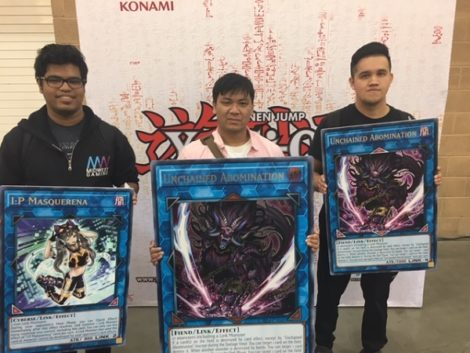 YCS Pasadena: Sunday's ATTACK OF THE GIANT CARD!! Winners!