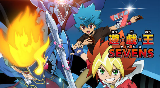New Yu-Gi-Oh Anime: Yu-Gi-Oh! SEVENS - First Poster, Cast Members