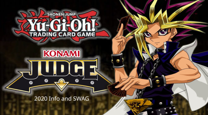 Konami Judge Program for Yu-Gi-Oh TCG Events Releases 2020 Info and Swag