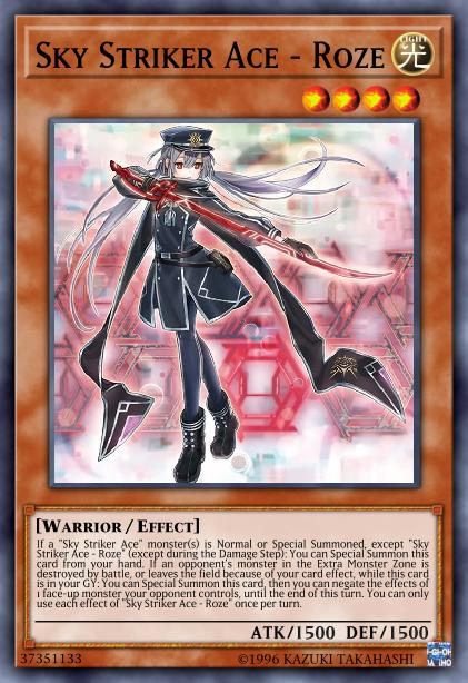 Sky Striker Ace - Roze