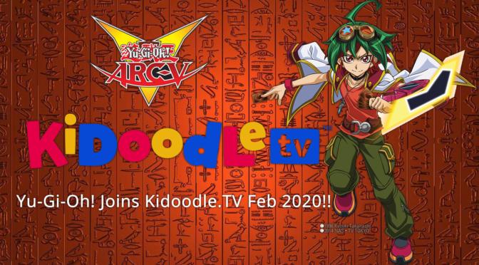Yu-Gi-Oh! Joins Kidoodle.TV®