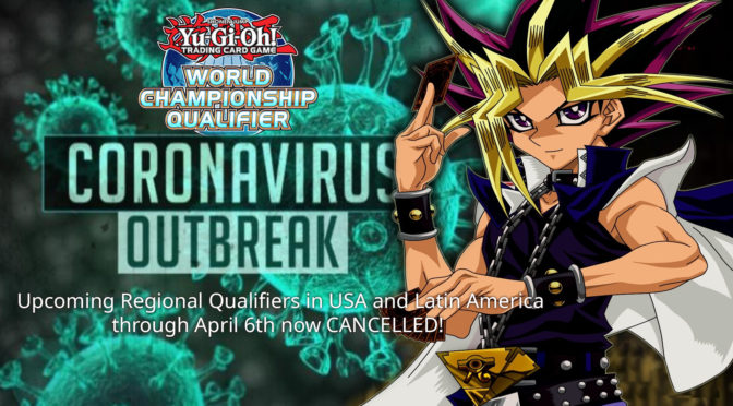 Statement from Yu-Gi-Oh! TCG Regarding Status of Upcoming Regional Qualifiers