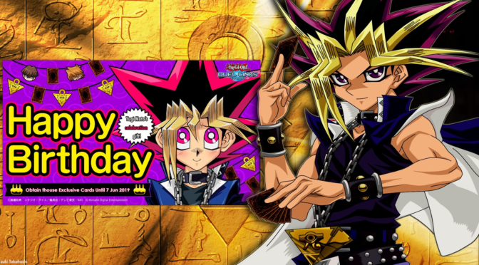Happy Birthday to Yugi Moto the King of Games!