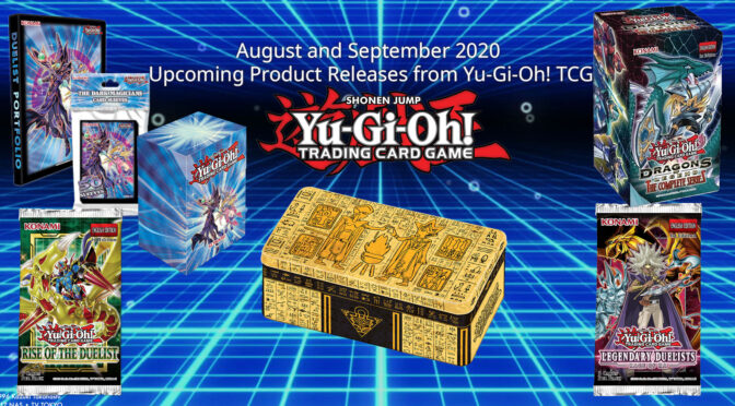 Details on TCG August and Sept Releases