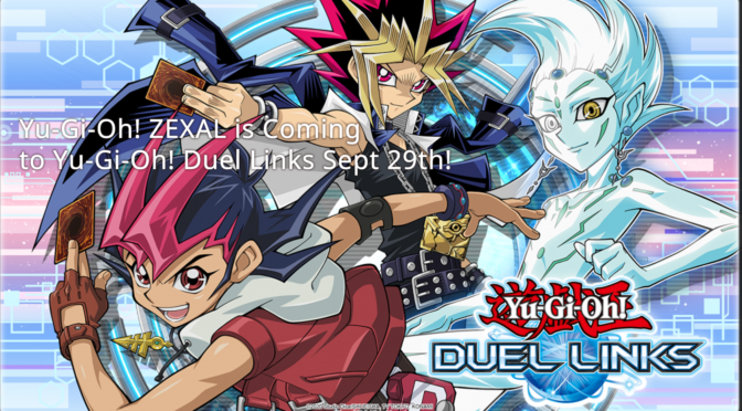 Yu-Gi-Oh! ZEXAL is Coming to Yu-Gi-Oh! Duel Links