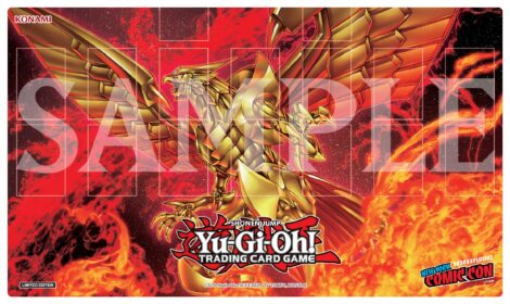NYCC x MCM Metaverse Exclusive Game Mat featuring The Winged Dragon of Ra