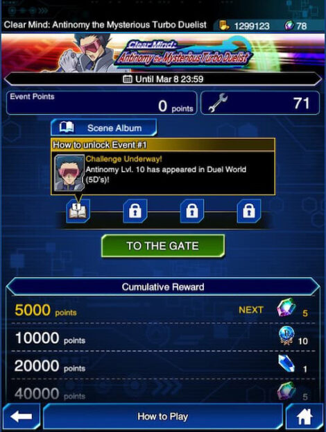 How to unlock Antinomy in the Clear Mind: Antinomy the Mysterious Turbo Duelist event