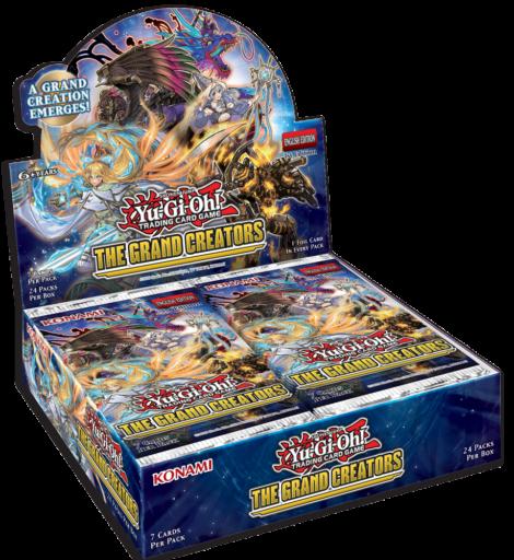 The Grand Creators booster set - EN box