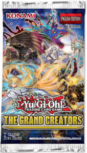 The Grand Creators booster set pack