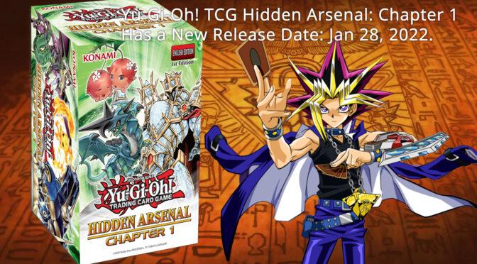 UPDATE: Hidden Arsenal: Chapter 1 has a new release date Jan 28, 2022.
