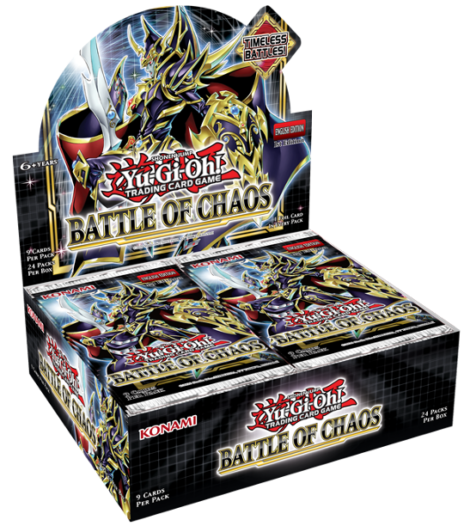 Yu-Gi-Oh! TRADING CARD GAME: Battle of Chaos - BoxArt