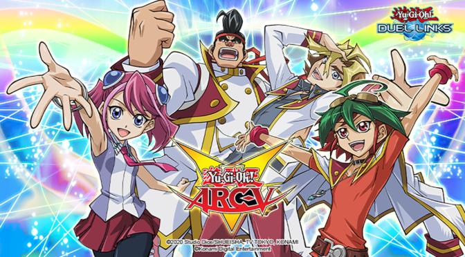 Arc – V swings into Yu-Gi-Oh Duel Links!