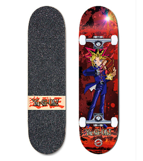 """Madrid Skateboards will produce a line of """"Yu-Gi-Oh!""""skateboards and longboards"""