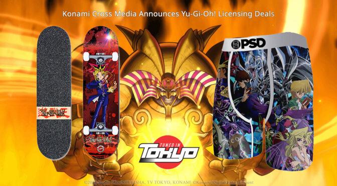 Konami Cross Media Announces Yu-Gi-Oh! Licensing Deals